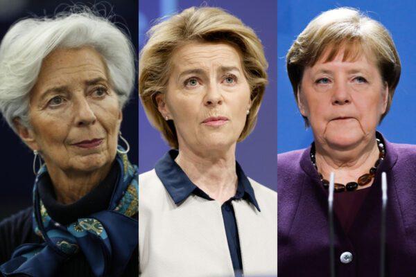 Merkel, von der Leyen e Lagarde: la troika al femminile guida l'Europa ma non è all'altezza