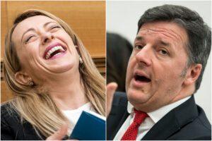 Sondaggio Emg: crescono FdI e IV così come la fiducia in Meloni e Renzi