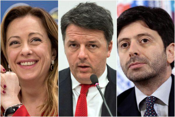 Ultimo sondaggio Swg per La7: Renzi scavalcato da Speranza, boom di Fratelli d'Italia