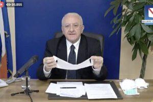 Campania, è gara di solidarietà tra gli imprenditori per battere il Coronavirus