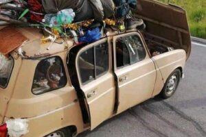 Il mistero della Renault 4: ecco com'è finito il viaggio diventato virale