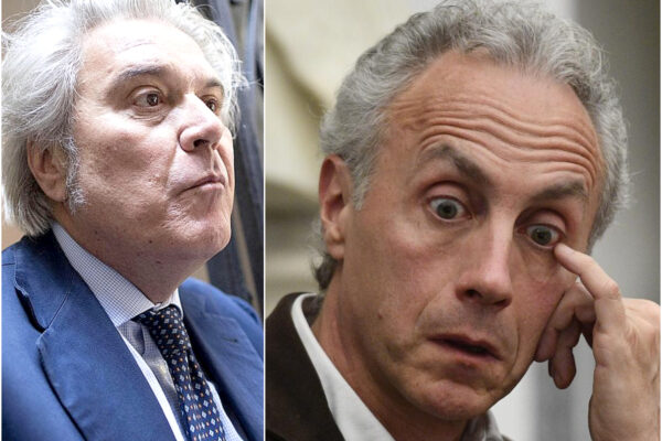 Luigi Marroni e Marco Travaglio