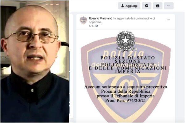 Sequestrati gli account del 'complottista' Marcianò: invitava persone ad andare in strada negando il Coronavirus