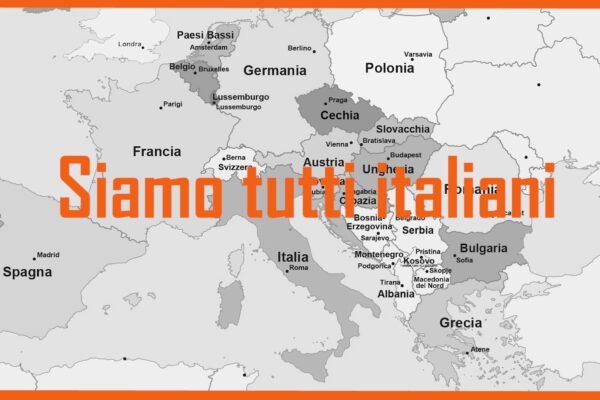 È pandemia: siamo tutti italiani