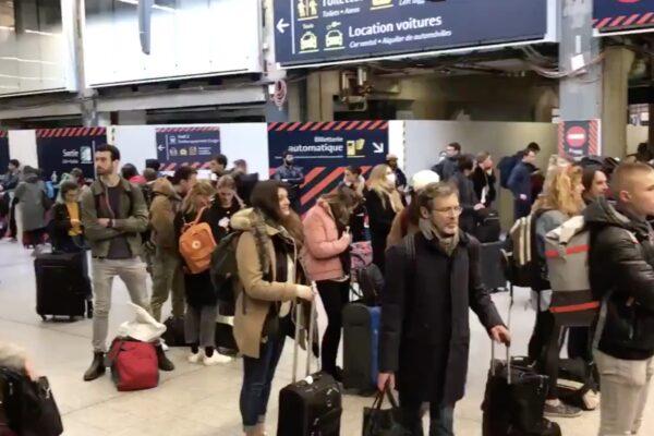Parigi come Milano, parte la grande fuga per la chiusura delle frontiere