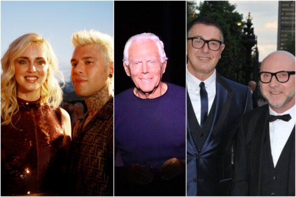 Armani, Ferragnez e Dolce&Gabbana, vip in campo contro il Coronavirus: donati oltre un milione di euro agli ospedali