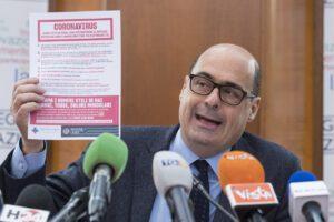 Zingaretti positivo al Coronavirus, focus sui contatti: primi politici in autoisolamento
