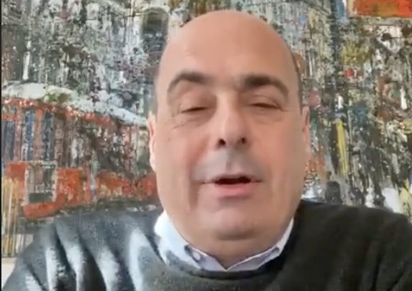 Coronavirus, positivo il segretario Pd Zingaretti: è in isolamento domiciliare