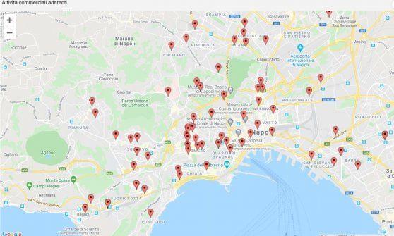 Bonus spesa a Napoli, l'elenco degli 84 supermercati convenzionati