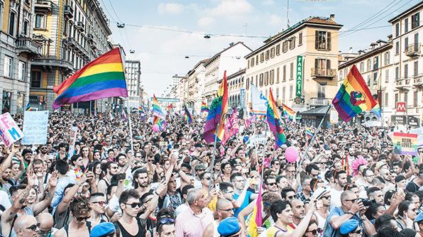 Chi festeggia per un mondo senza Pride ha scelto la barbarie
