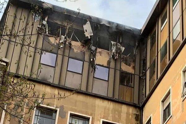 Palazzo di Giustizia va in fiamme, Bonafede se ne frega