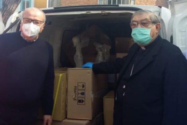 Coronavirus, il dono di Papa Francesco per Napoli: due ventilatori al Cotugno