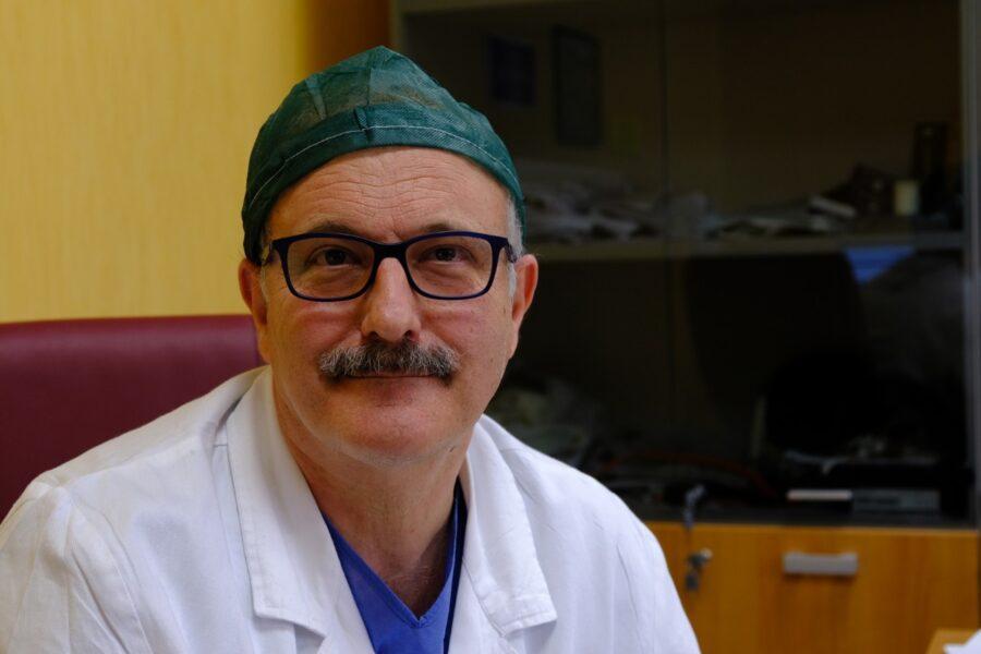 Francesco Diurno, direttore Anestesia e Rianimazione  Ospedale Santa Maria delle Grazie