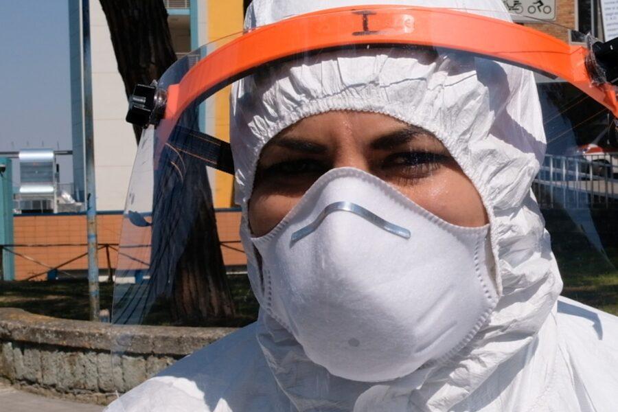 Sara Polverino, infermiera del Cotugno di Napoli
