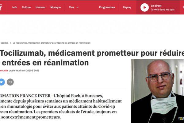 """Anche in Francia adottata la Cura Ascierto: """"Ottimi risultati col Tocilizumab"""""""