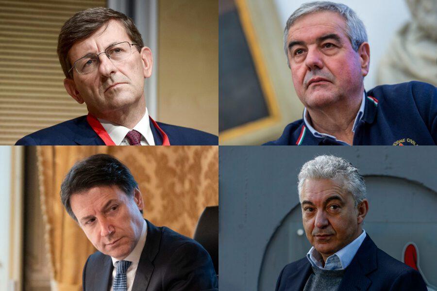 Borrelli, Arcuri, Colao: Conte ha paura di decidere e si auto commissaria