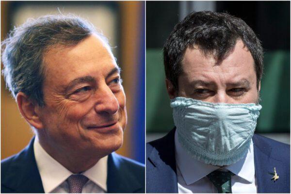 Sondaggio Ixè: Lega in picchiata, un italiano su due vuole Draghi