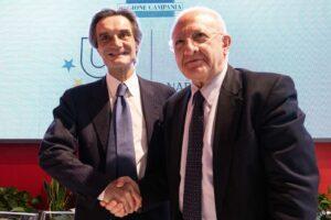 """Fontana risponde a De Luca: """"E' confuso, non chiuderemo ai 14mila campani che vengono a curarsi in Lombardia"""""""