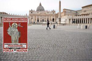 La marcia di Forza Nuova a San Pietro, così l'estrema destra sfida i divieti