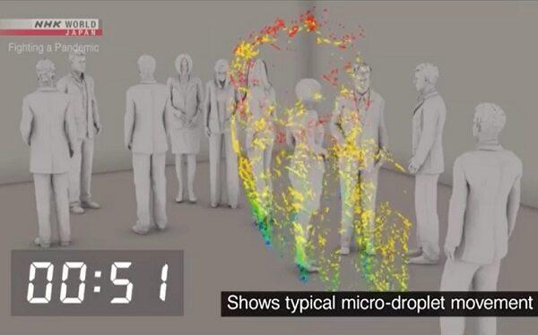 Il Coronavirus resiste in aria, esperimento mostra quanto sopravvivono le particelle
