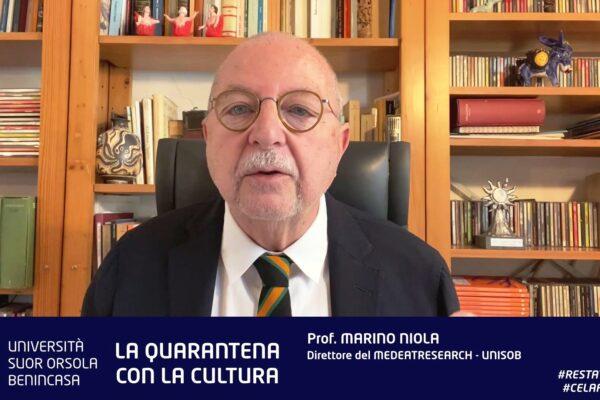 La Pasqua digitale al tempo del Coronavirus: 'va in onda' la quarantena culturale con Marino Niola