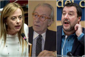 Quando Meloni e Salvini volevano Vittorio Feltri Presidente della Repubblica
