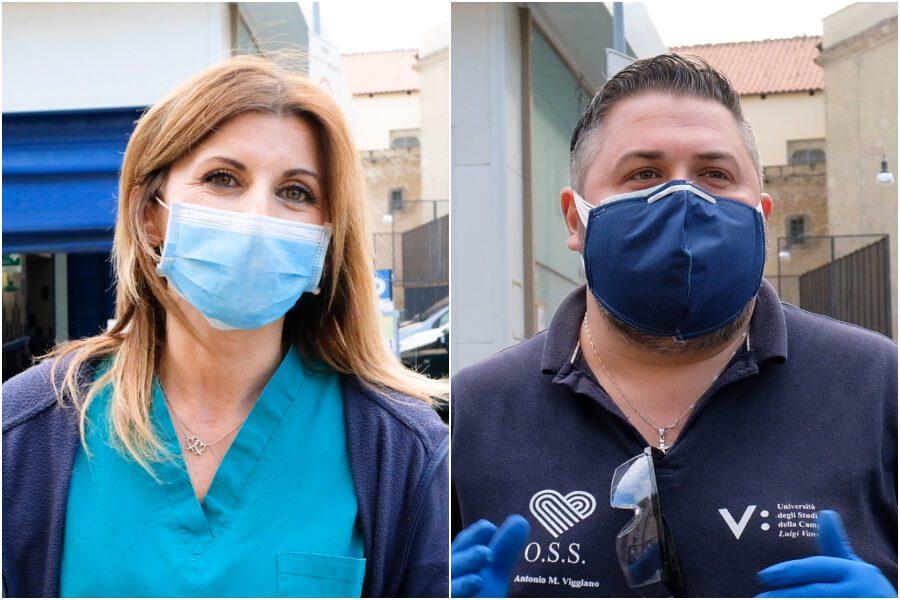 """Operatori sanitari: """"Ci chiamate eroi ma siamo senza contratti stabili da 17 anni"""""""