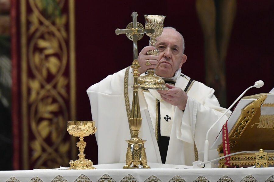 """L'appello di Papa Francesco all'Europa: """"Sfida epocale, non è tempo per egoismi"""""""