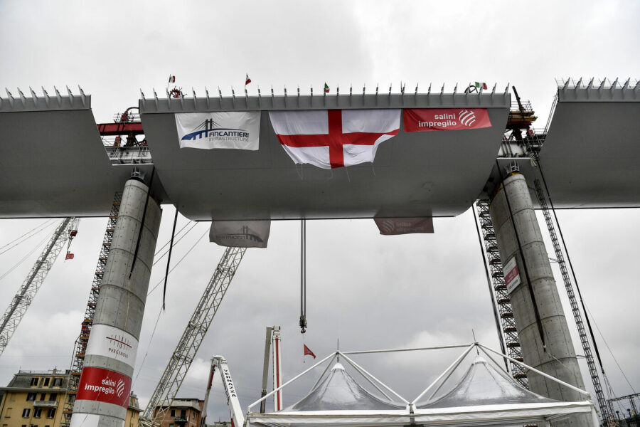 Nuovo ponte di Genova sia modello per tutto il Sud