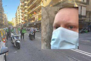 """Caos delivery a Napoli, blitz e chiusure. Lo sfogo di Puok: """"E' tutto assurdo"""""""