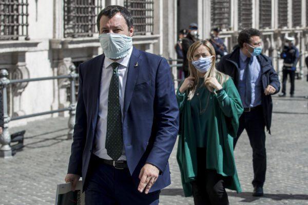 Sondaggio BiDiMedia: emorragia senza fine per Salvini, perde un punto in un mese