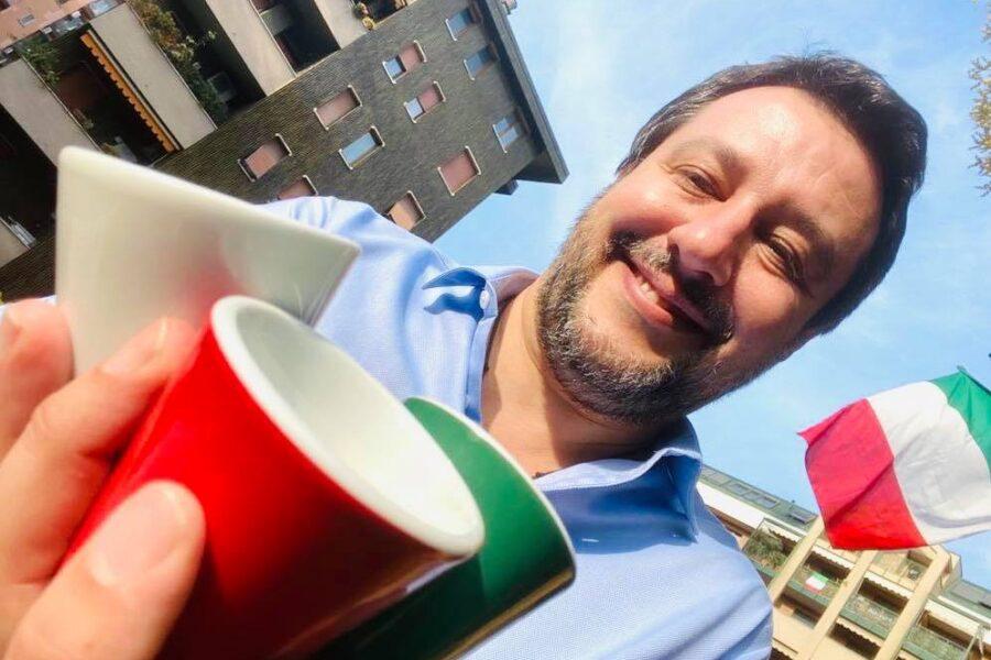 Salvini e il 25 aprile, la 'celebrazione' senza riferimenti alla Liberazione dal fascismo