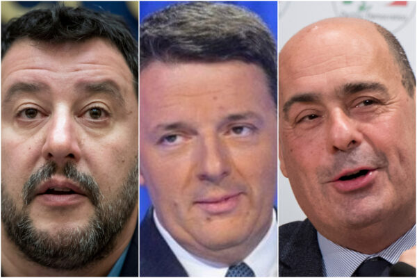Sondaggio Ixè-Cartabianca: crollano Lega e Movimento 5 Stelle, boom di Italia Viva