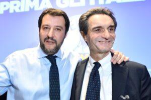 Fontana sfida Conte sulla riapertura, ma dietro c'è Salvini