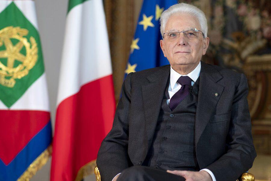 """25 aprile, il messaggio del presidente Sergio Mattarella: """"Insieme possiamo farcela"""""""