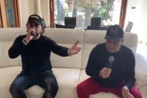 [VIDEO] Gigione e Jo Donatello invitano a restare a casa