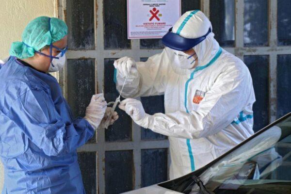 Bollettino Coronavirus, impennata di casi: 552 nuovi contagi, nessuna regione covid-free