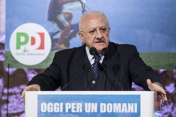 Le ambizioni di De Luca: dopo la Campania vuole prendersi il Partito Democratico