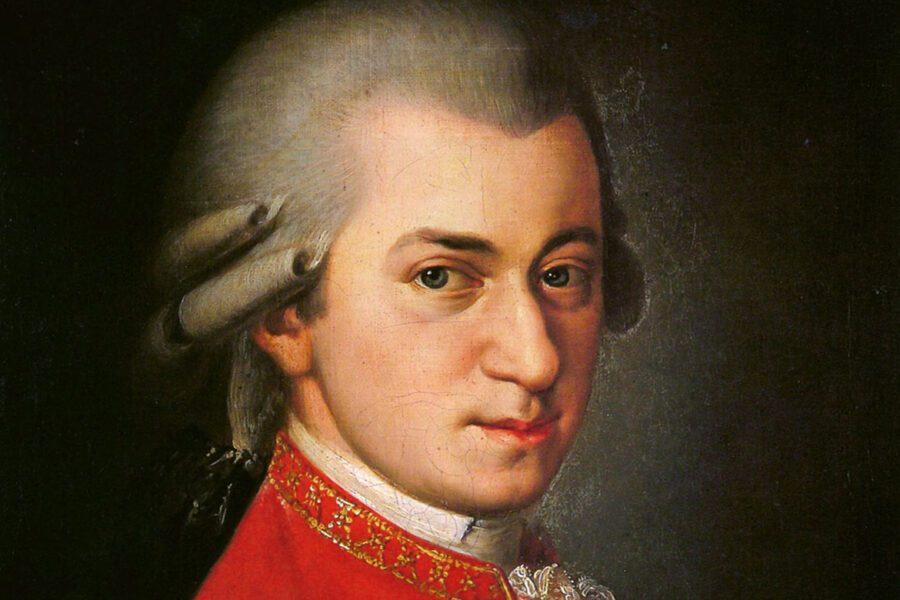 Mozart e le sue lezioni per arrivare alla felicità riprese da Pasolini