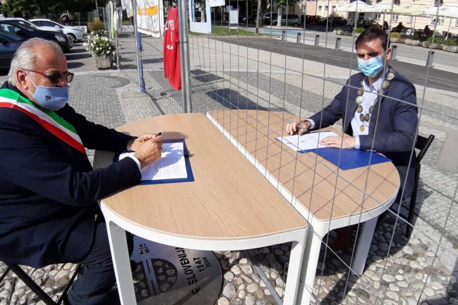 """Guido Pettarin: """"Costruiamo barriere attorno a chi grida 'stoj'. Non tra Gorizia e Nova Gorica, né tra Italia e Slovenia"""""""