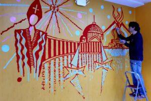 """Adotta una parete, il Pascale chiama gli artisti: """"Coloriamo l'ospedale"""""""