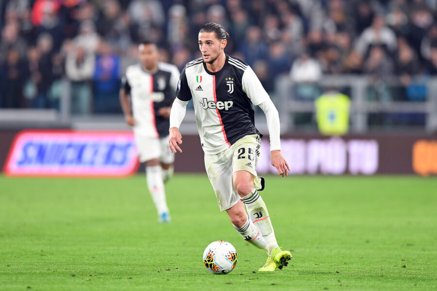 "Foto LaPresse – Tano Pecoraro 19 10 2019 Torino – (Italia) Sport Calcio Juventus vs Bologna Campionato di Calcio Serie A TIM 2019/2020 – Stadio ""Allianz"" nella foto: rabiot adrien  Photo LaPresse – Tano Pecoraro 19 October 2019 City Torino – (Italy) Sport Soccer Juventus vs Bologna Italian Football Championship League A TIM 2019/2020 – ""Allianz"" Stadium in the pic: rabiot adrien"