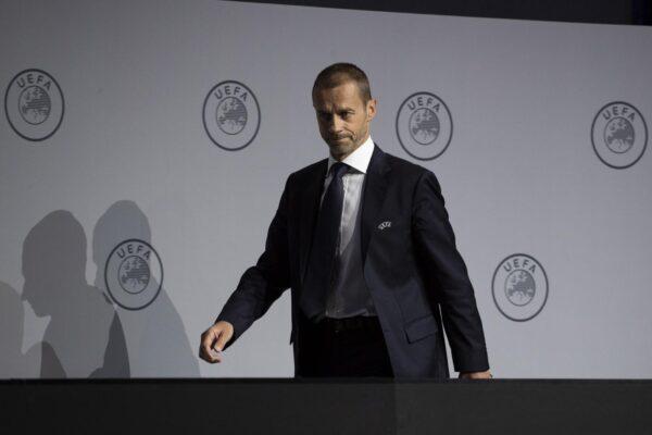 """Uefa, il presidente Ceferin: """"Molte persone un giorno moriranno, dobbiamo preoccuparcene oggi?"""""""