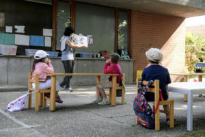 Scuola all'aperto: al via la sperimentazione a Ivrea