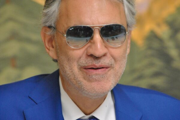 "Andrea Bocelli, ritratti in conferenza stampaAndrea Bocelli at the Hollywood Foreign Press Association press conference for ""The Music of Silence"" at the London Hotel in New York, NY Photo by: Yoram Kahana_Shooting Star. BocelliAndrea29_YK_SStarLaPresse  — Only Italy"