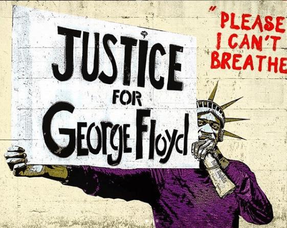 La foto del murales sul canale Instagram di Harry Greb