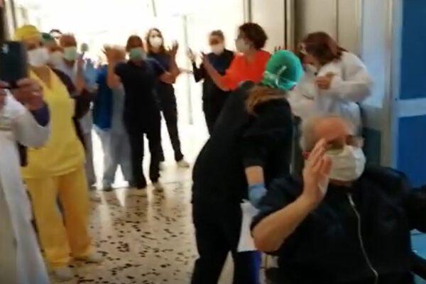 Vincono il Covid a 77 anni, ospedale in festa per Maria e Nunzio