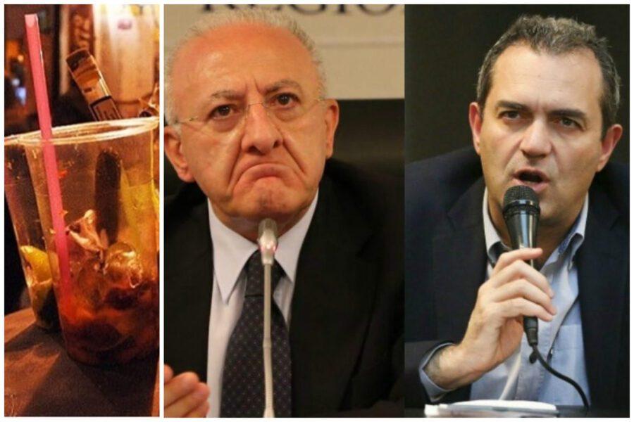 De Magistris-De Luca, sfida a base alcolica: il sindaco allunga la movida