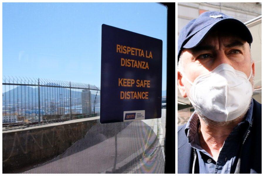 """Capienza limitata e pochi mezzi, Napoli e il caos trasporti: """"Fate presto, è solo il primo giorno"""""""