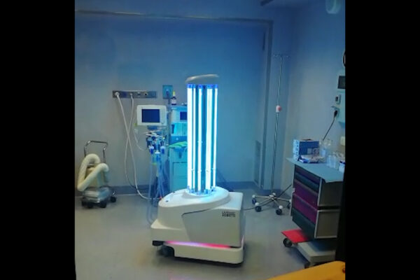 Il robot purificatore, Cristiano Huscher spiega la best practice per riaprire scuole e luoghi pubblici